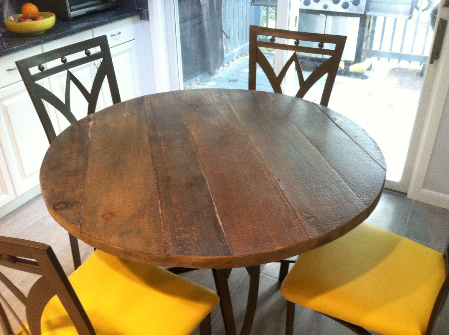 Round Dining Table Dining Table Top40 Inch By Freshrestorations