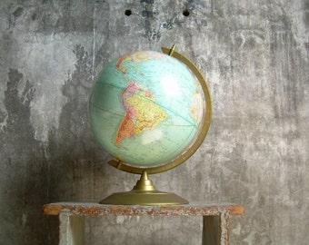 Vintage Cram's Imperial 12 Inch World Globe 1960's