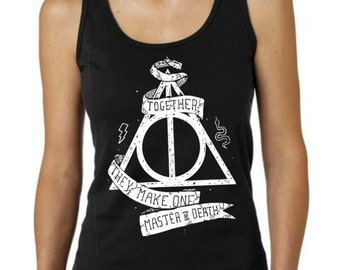 Deathly Hallows  Clothing Women Tank Top T-shirt