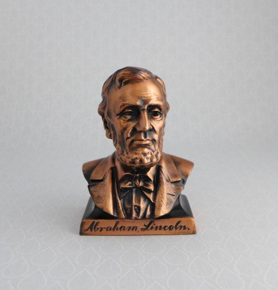 Lincoln Seattle: Abraham Lincoln Metal Coin Bank Vintage 1950's Lincoln