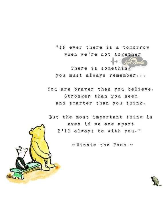 Winnie the Pooh Wedding Quotes, Pooh Baby quotes, New born