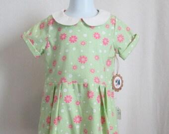 Retro Toddler Girl's Dress 2T