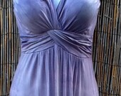 Tie Dye Dress with built in bra Maxi or Short