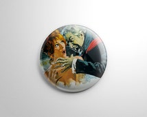 Horror Movie – The Fearless Vampire Killers Button / Keychain