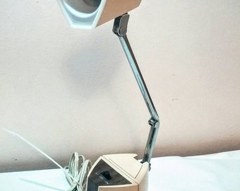 Vintage desk lamp adjustable Mid Century lighting Hamilton