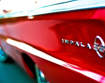 Impala SS - Classic Car Photograph Chevrolet Impala SS Convertible