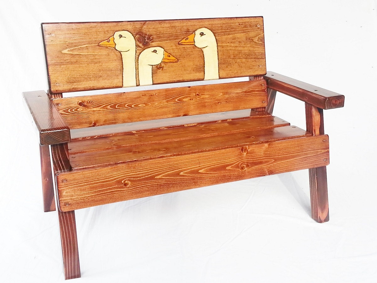 Children 39 s benches outdoor photo for Kids outdoor furniture