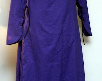 Purple Kirtle/Cotehardie---100% Cotton
