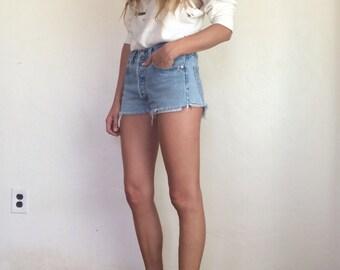 Vintage Levis 501 Cut-off Shorts