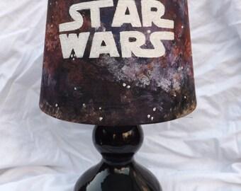 CUSTOM Star Wars Hand Painted Galaxy Lamp
