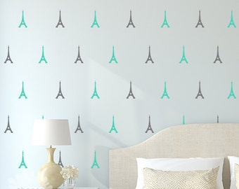 Eiffel Tower Wall Decal / Eiffel Tower Sticker / Paris Wall Decal / Modern Wall Decor / Home Decor / gift