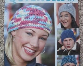 Crochet Pattern Book - Leisure Arts #3832 - Seven Designs to Create