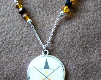 Witch's Cross Pendant