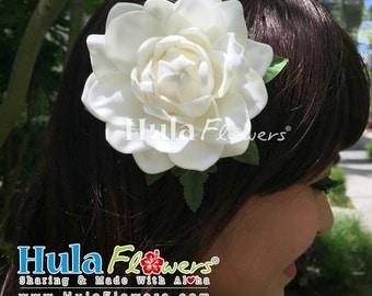 Hawaii Gardenia Flower Hair Clip, Wedding Hair Accessories, CM-Gar1