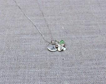 Plumeria necklace, Hawaiian necklace, Tropical jewelry