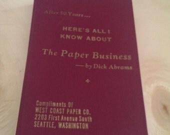 Vintage West Coast Paper Company  Promotional Item-It Has a Surprise Ending by Dick Abrams