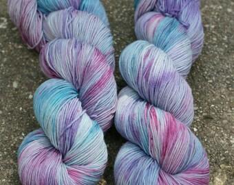 Merino - Nylon - Tough Love - Sock - Superwash Merino - Yarn -  Wool - Faerie - Hand Dyed