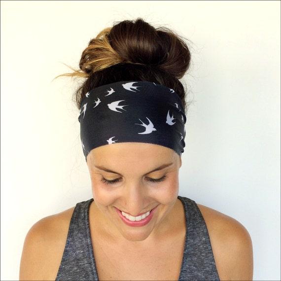 Exercise Hair Bands: Yoga Headband Workout Headband Fitness Headband Running