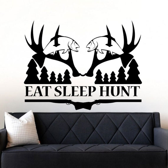 Items similar to hunting decals deer hunting wall decal for Hunting wall decals