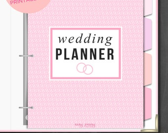 Wedding planner printable etsy au for Diy wedding binder templates