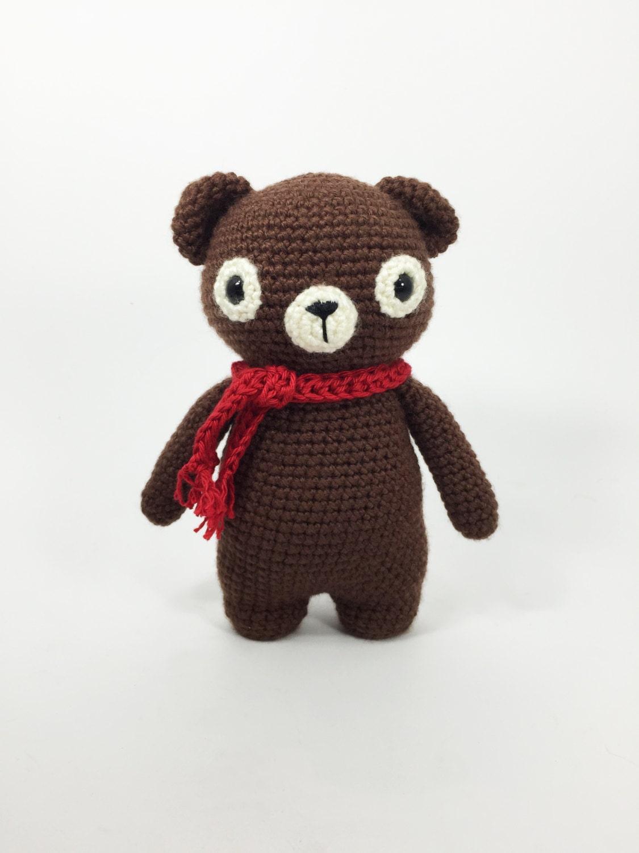 Crochet Bear Amigurumi Bear Crochet Animal Amigurumi by ...