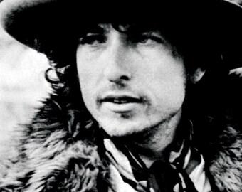 Bob Dylan Poster, Singer, Songwriter, Folk Music Icon, Rock Legend