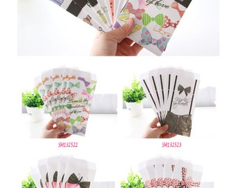 Colourful and Cute Envelopes Pack of 5 Ladies
