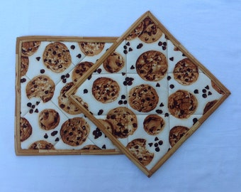 008 Yummy Chocolate Chip Cookie Pot Holders