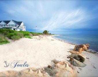 Fuller Street Beach ~ Edgartown, Martha's Vineyard, Beach, Photography, Fine Art, Wall Art, Coastal Decor, Ocean, Nautical, Seaside, Joules