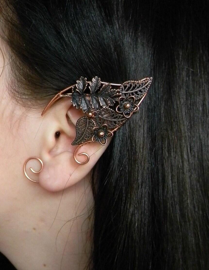 Elven Ears A Pair Elf Earringsno Piercing Earrings Larp