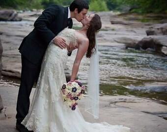 Crochet Bridal Bouquet - Basic