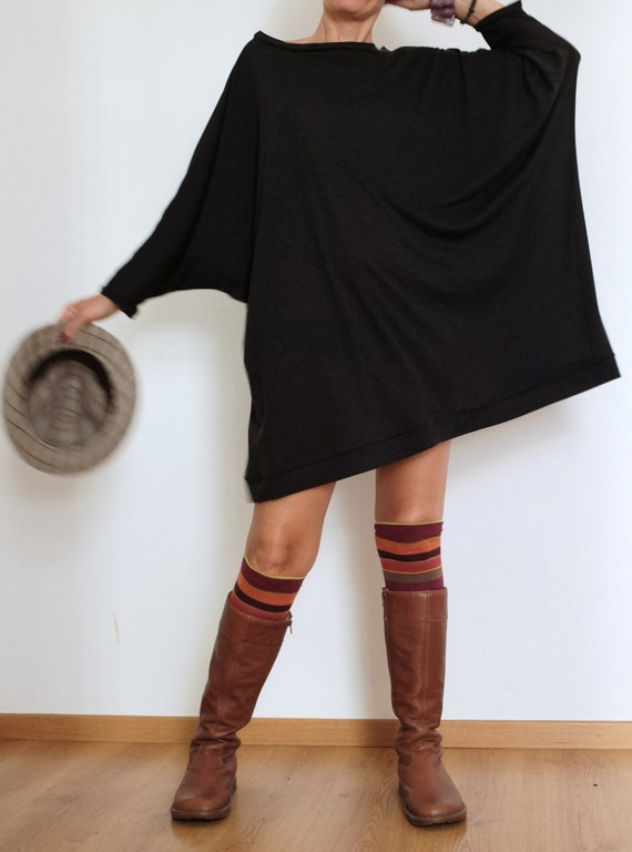 Oversized Sweater Sweater Dress Plus Size Clothing Wool