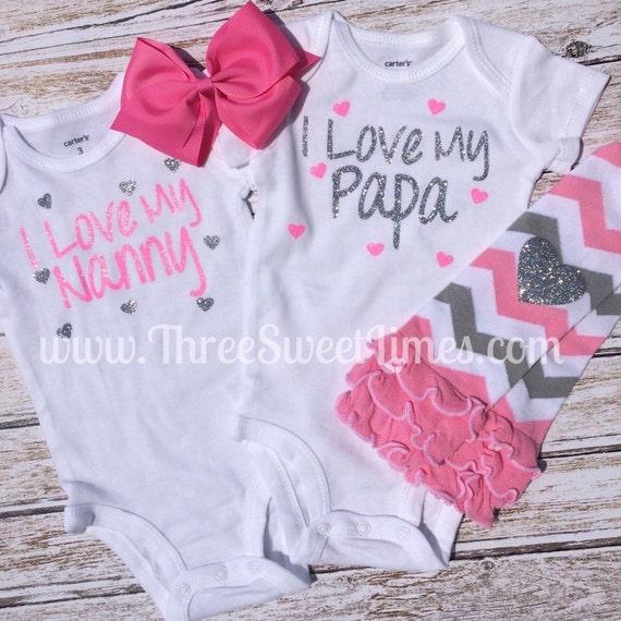 baby shower gift new baby gift nanny papa pop pop gramma baby
