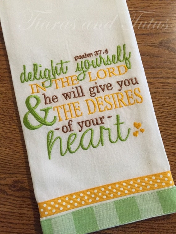 embroidery designs kitchen towels kitchen towel embroidered with bible verse linen bridal 7053
