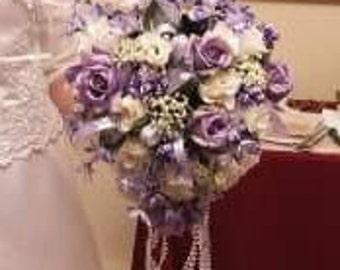 lavender bouquet beauty