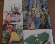 Butterick 4364 Garden Apron and Utility Apron Sewing Pattern UNCUT