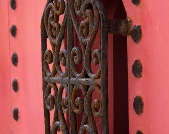 Detail of a Moroccan door