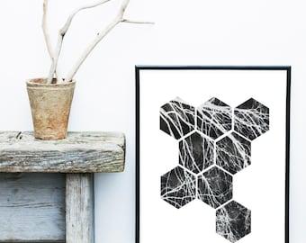 Printable Art, Abstract Poster,  Scandinavian Design, Geometric Art, Minimalist Poster, Abstract Wall Art, Modern Art Print, Geometric Shape