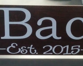 Wood-Look Ceramic Tile Family Sign