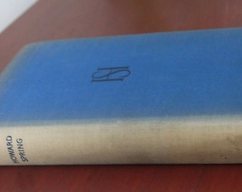 Hard Facts by Howard Springs. First Edition. Hardback book.