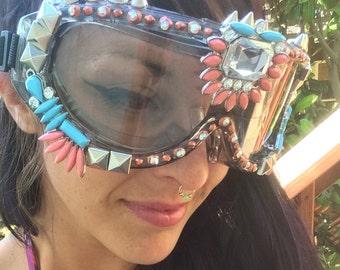 "Burning Man Goggles ""the Atlantean"""