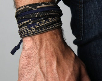 Man Gifts, Gift for Him, Mens Bracelet, Husband Gift, Gift for Men, For Husband, Boyfriend, Wrap Bracelet, Mens Gift, Gift Ideas, For Him