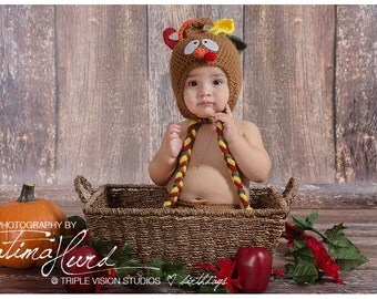 Thanksgiving Outfit Baby Girl - Thanksgiving Outfit Baby Boy - Thanksgiving Baby - Thanksgiving Newborn - Thanksgiving Outfit - Turkey Hat