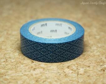 Family Crest / Hanabishi / Blue Tape, Japanese mt Washi Paper Masking Tape, Adhesive Tape, Traditional Art Design Sticker, Planner, MT01D279
