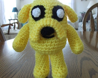 Crochet Jake the Dog from Adventure Time, Made to Order
