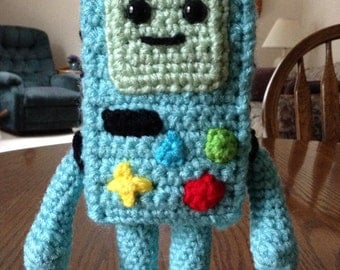 Crochet Beemo from Adventure Time, Made to Order