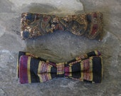 sale // pair of clip-on bowties