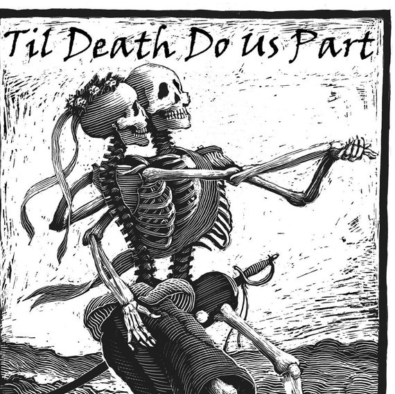 Til Death Do Us Part-Wedding Party Poster