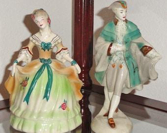 Hard To Find Rare Original GOLDSCHEIDER Fine China Maria Antoinette & Prince Of Wales Peggy Porcher Figurines Figures