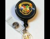 Harry Potter ID Badge Reel, Retractable ID Badge Holder, Harry Potter Gifts, Id Reel, Badge Holder, Retractable Id Badge Reel, IDR2108a